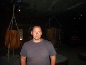 me in Wieliczka Salt Mine